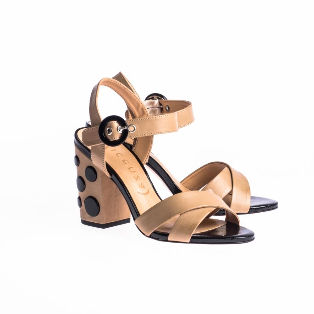 Sandale dama cu toc 10 cm